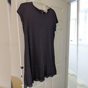 Michael Kors NWOT Midi Shift T Shirt Dress Black